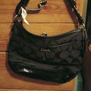 Coach bag, NWT, black